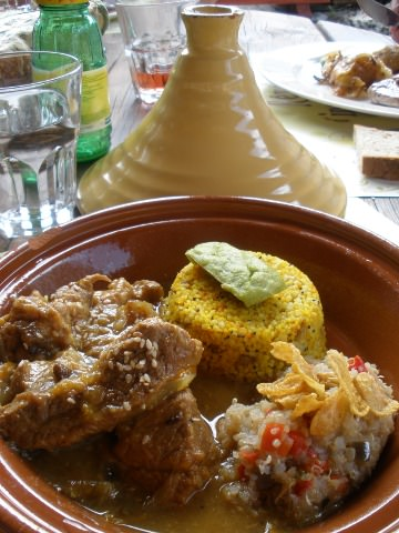 A veal tagine.