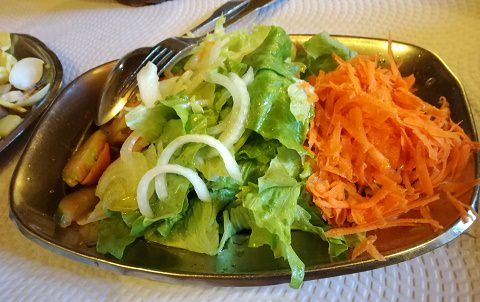 Salad with a great dressing!