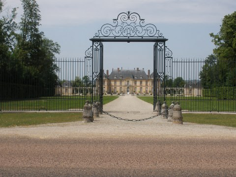 A chateau in Champagne
