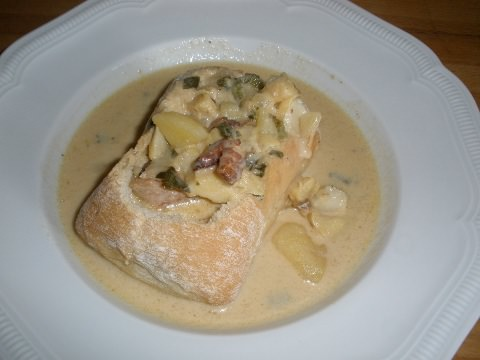 Photo of Fish Chowder.