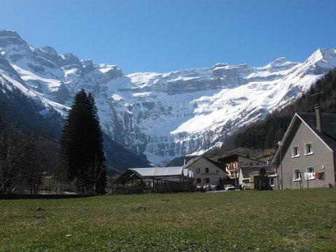 Taken in the village of Gavarnie