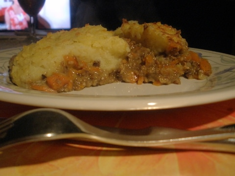 Another view of my Cottage Pie