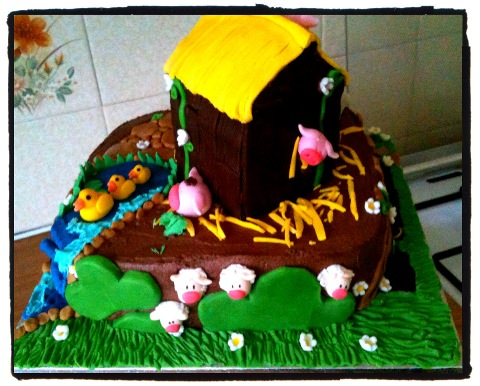 Jana's magical farm cake