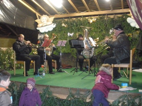 The local brass band.