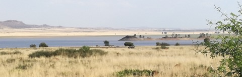 Gariep Dam area Oviston
