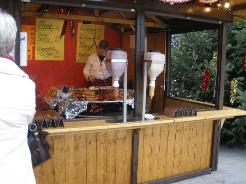 The sausage man at Heilbron.