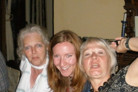 A photo of Lisa, Helen and Suzie.