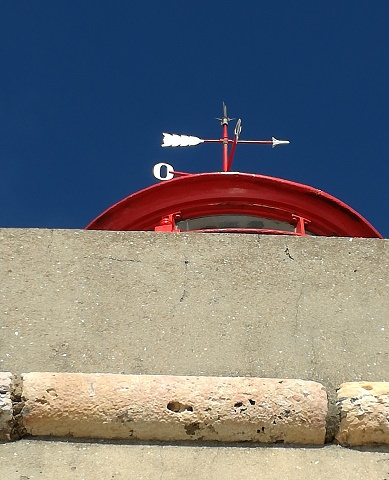 Nazare lighthouse top