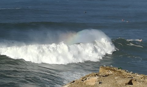Nazare small wave!