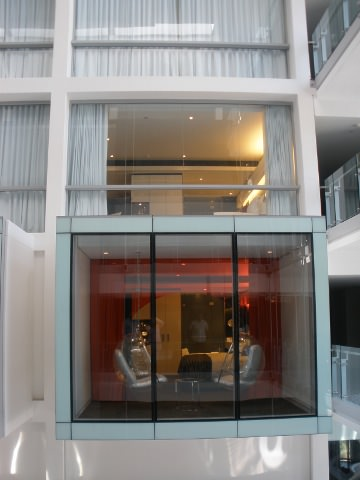 The Pod rooms of the hotel.