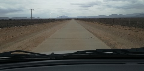 The road to Willowmore