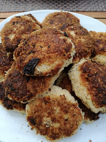 Cauliflower Oat Patties