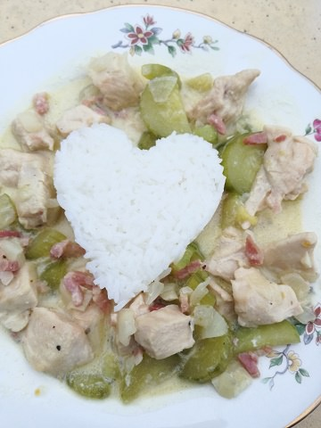 Chicken and Cucumber