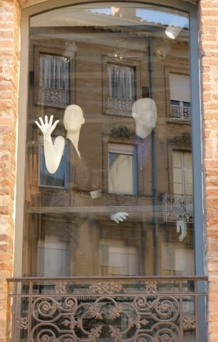 Mannequins in Toulouse