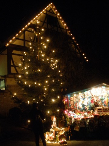 A photo taken at Forchtenberg Christmas market.