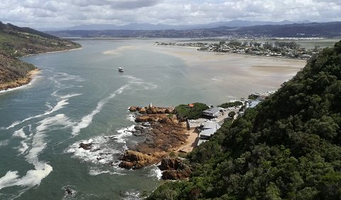 Knysna taken from the heads
