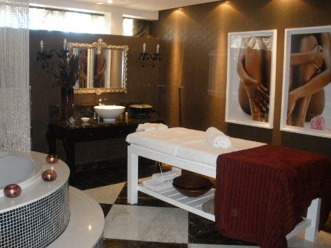 One of the wellness rooms.